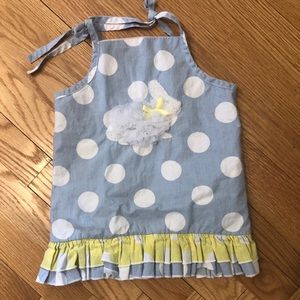 Polka dot Mud Pie dress
